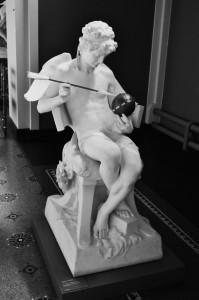 Eros Making the World Turn According to his Pleasure (Claudius Marioton)